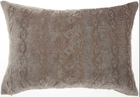 """LIFE STYLES HR020 CHARCOAL 14"""" x 20"""" THROW PILLOW"""