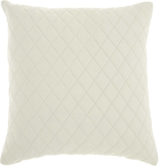 """COUTURE NAT HIDE PD031 IVORY 20"""" x 20"""" THROW PILLOW"""