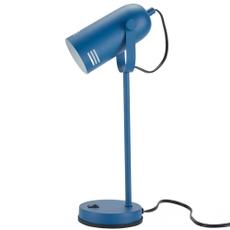 "18"" HAD01 BLUE METAL DESK LAMP"
