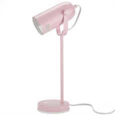 "18"" HAD01 PINK METAL DESK LAMP"