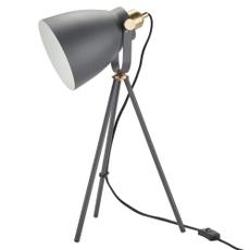 "21"" HAD02 BLACK METAL TRIPOD LAMP"