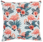 """LIFE STYLES SS915 MULTICOLOR 18"""" x 18"""" THROW PILLOW"""