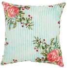 """LIFE STYLES ST390 MULTICOLOR 20"""" x 20"""" THROW PILLOW"""