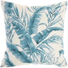 """OUTDOOR PILLOWS GT124 TURQUOISE 18"""" x 18"""""""