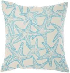 """OUTDOOR PILLOWS GT133 TURQUOISE 18"""" x 18"""""""