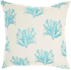 """OUTDOOR PILLOWS GT134 TURQUOISE 18"""" x 18"""""""