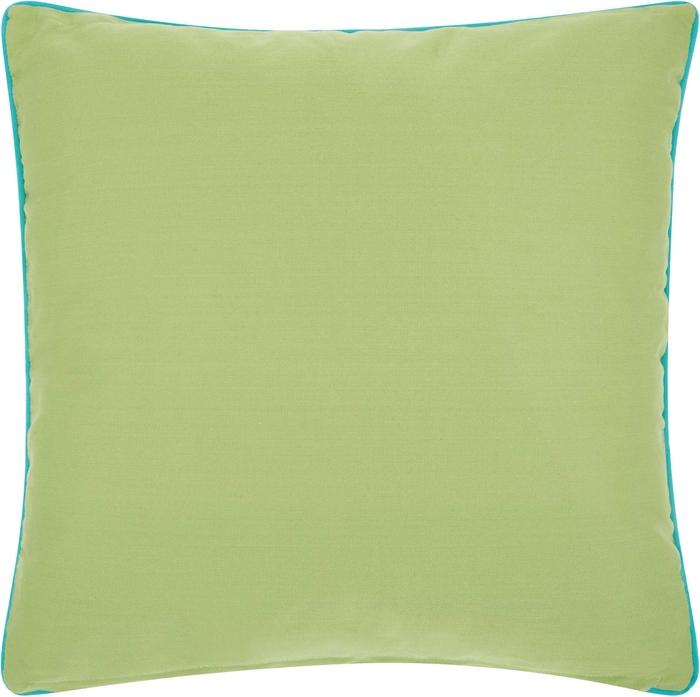 Outdoor Pillows L1521 Green Tur 18 X 18 Throw Pillow