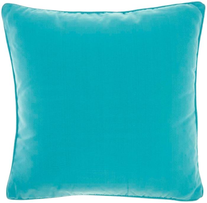 Outdoor Pillows L9090 Turquoise 18 X 18 Throw Pillow