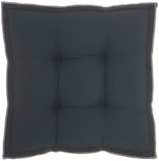 """OUTDOOR PILLOWS QY029 CHARCOAL 18"""" x 18"""" x 3"""" SEAT CUSHION"""
