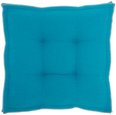 """OUTDOOR PILLOWS QY029 TURQUOISE 18"""" x 18"""" x 3"""" SEAT CUSHION"""