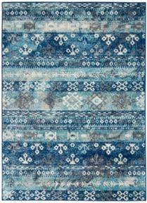 PERSIAN VINTAGE PRV07 IVORY BLUE