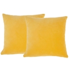 LIFE STYLES SS999 YELLOW SET2 PILLOW COVER